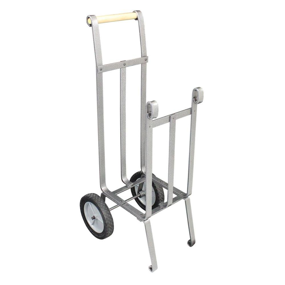 Vogelzang Heavy Duty Firewood Cart-LC-37 - The Home Depot