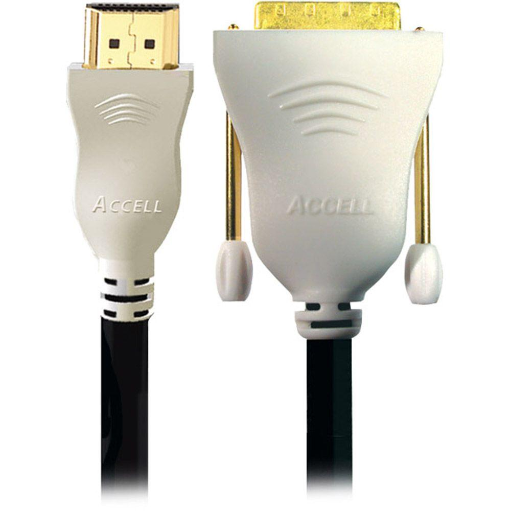 Accell UltraAV 3.3 ft. HDMI to DVI Cable - Black