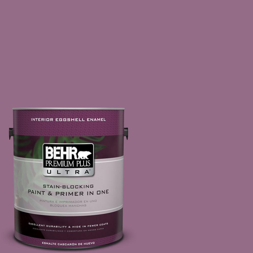 1-gal. #M110-6 Sophisticated Lilac Eggshell Enamel Interior Paint