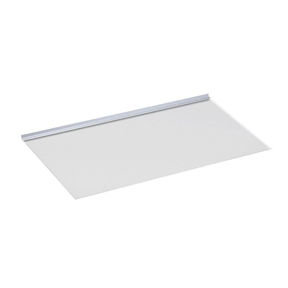 26 in. x 48 in. Square Polycarbonate Window Well Covering Kit