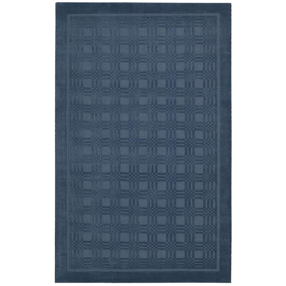 Nourison Indoor/Outdoor Area Rug: Nourison Rugs Westport Blue 8 ft. x 10 ft. 6 in. 202468