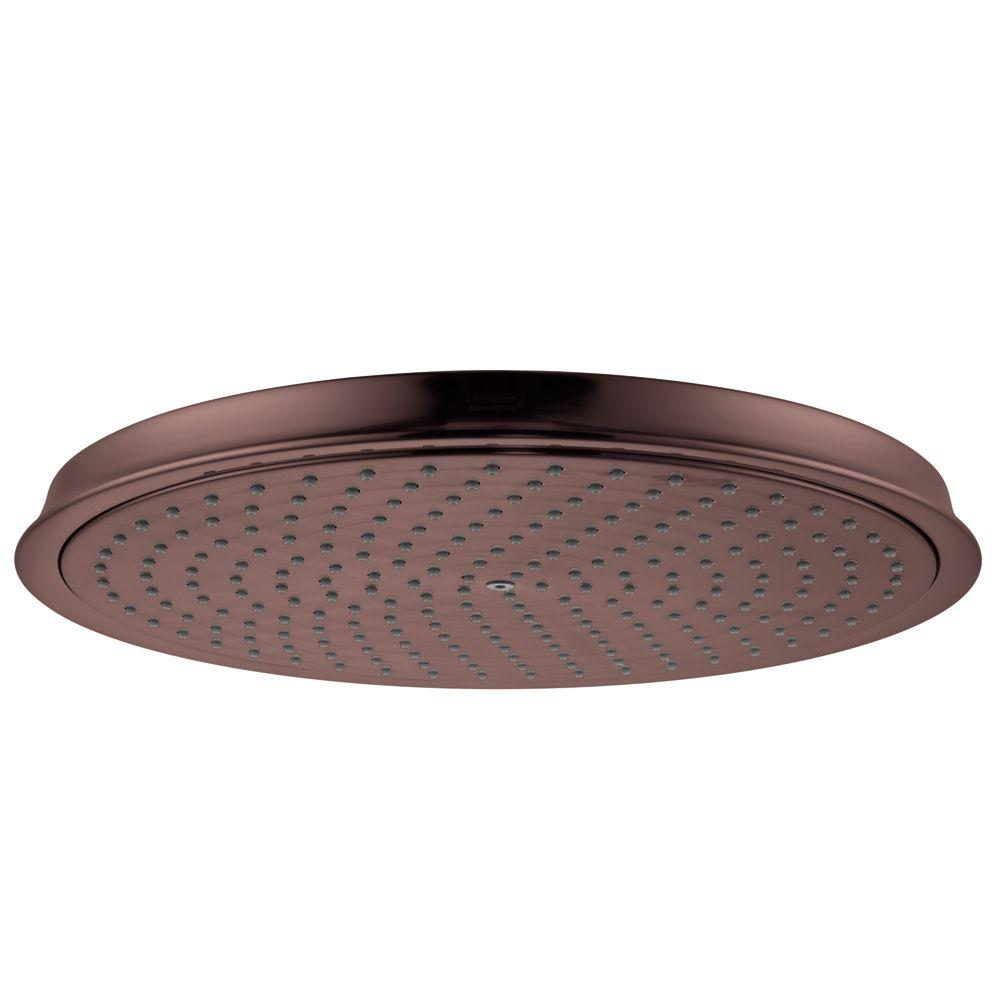 Hansgrohe Raindance C 300 AIR 1-Spray 12 in. Showerhead in Oil Rubbed Bronze-DISCONTINUED