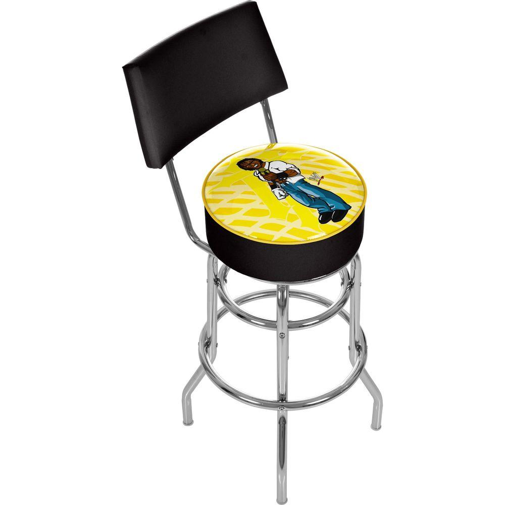 Trademark WWE Kids R-Truth Padded Bar Stool with Back