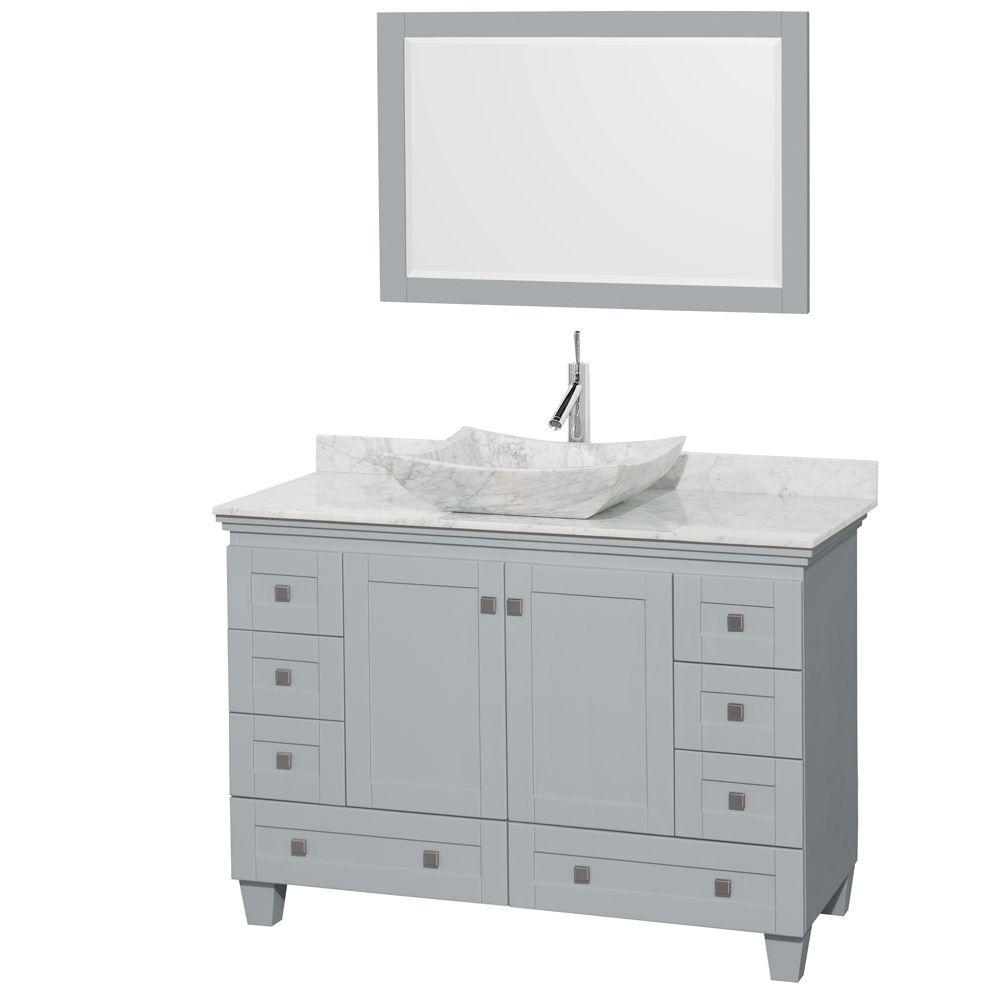 Acclaim 48 in. W x 22 in. D Vanity in Oyster