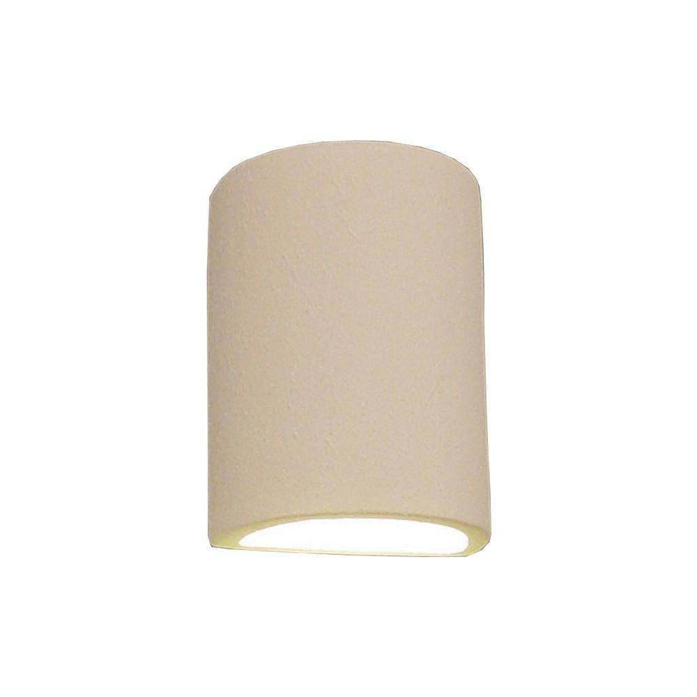 Daniel Paintable Bisque Ceramic Outdoor Wall Sconce
