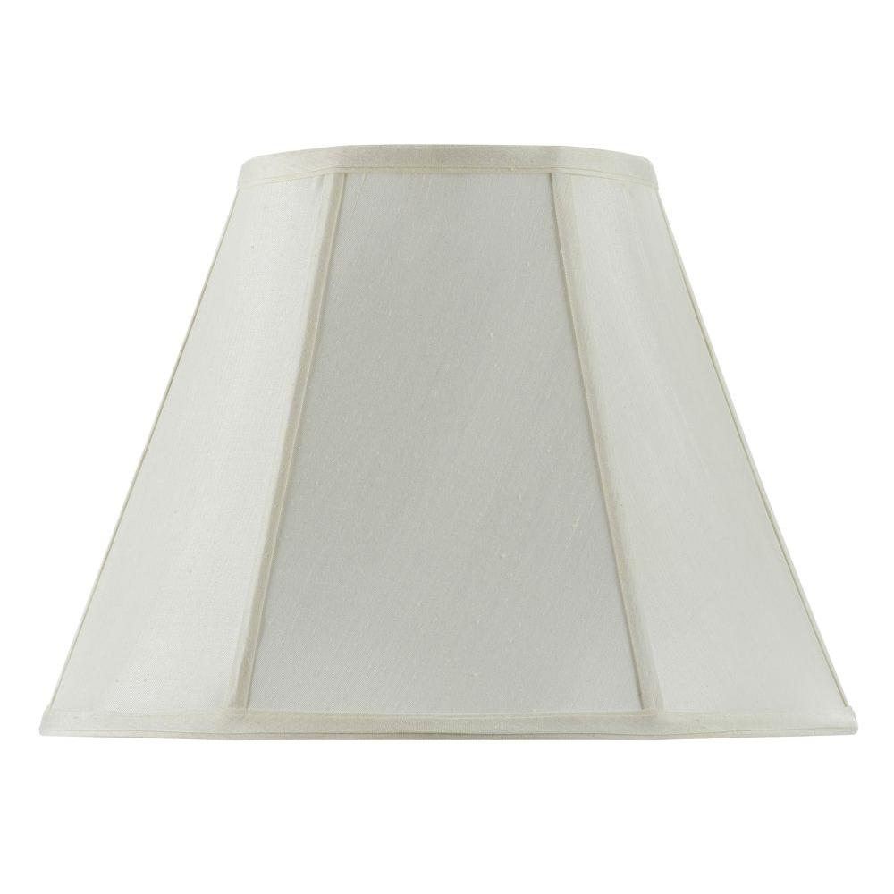 12 in. Egg Shell Vertical Piped Basic Empire Shade