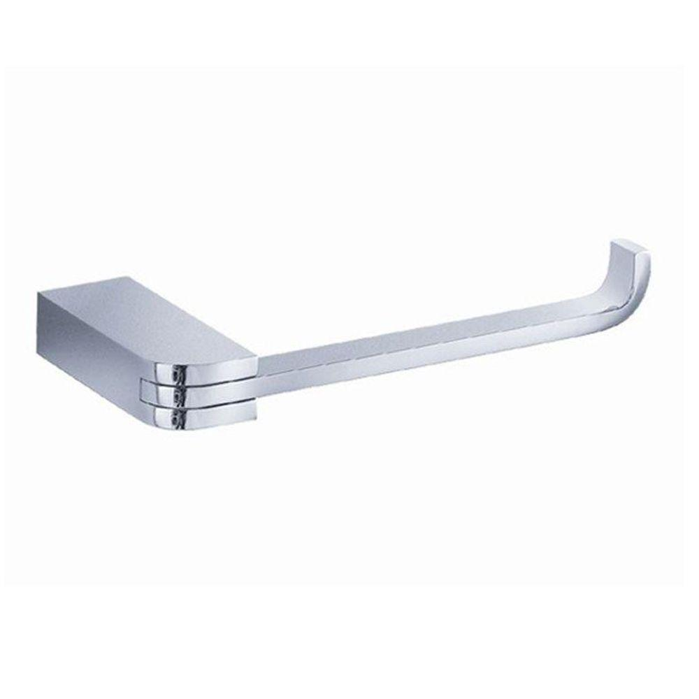 Solido Single Post Toilet Paper Holder in Chrome