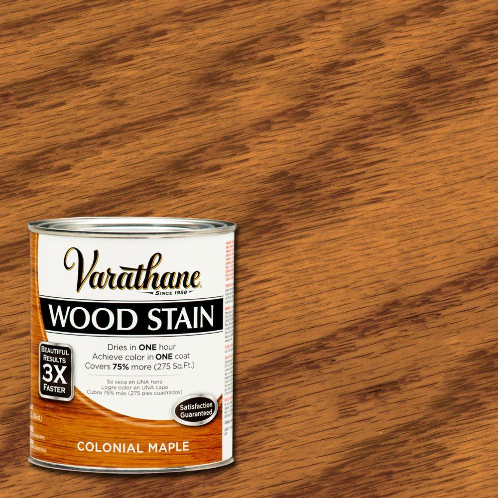 Varathane 1 qt. 3X Colonial Maple Premium Wood Stain (Case of 2)