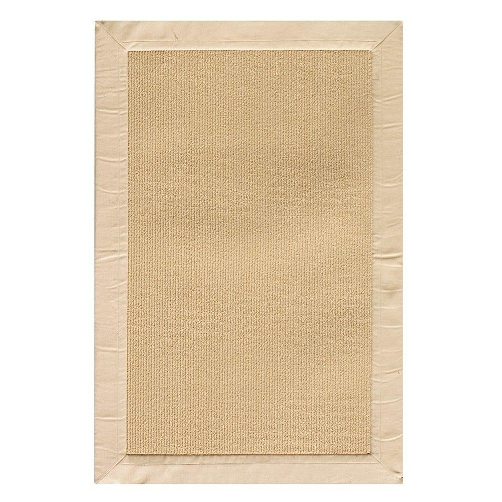home decorators collection cove tan border 9 ft x 12 ft