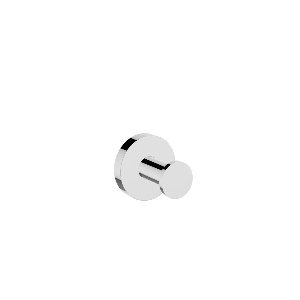 Identity Single Robe Hook in Chrome
