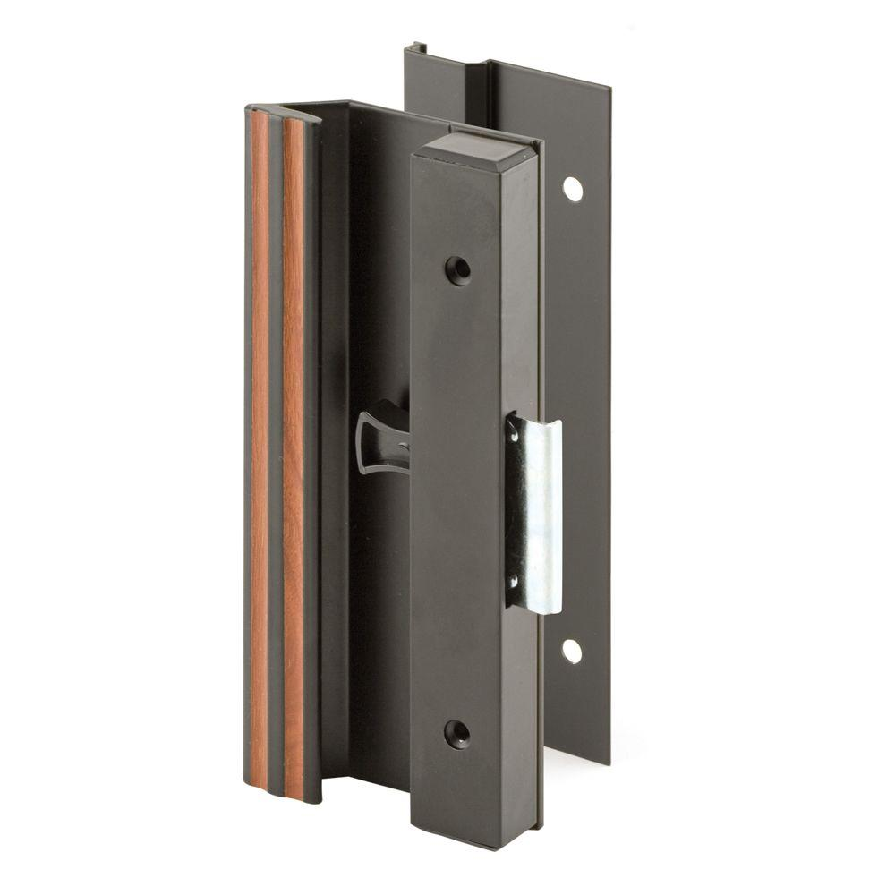 Prime-Line Ultra Low Pro Clam Latch Black Sliding Door Handle-DISCONTINUED