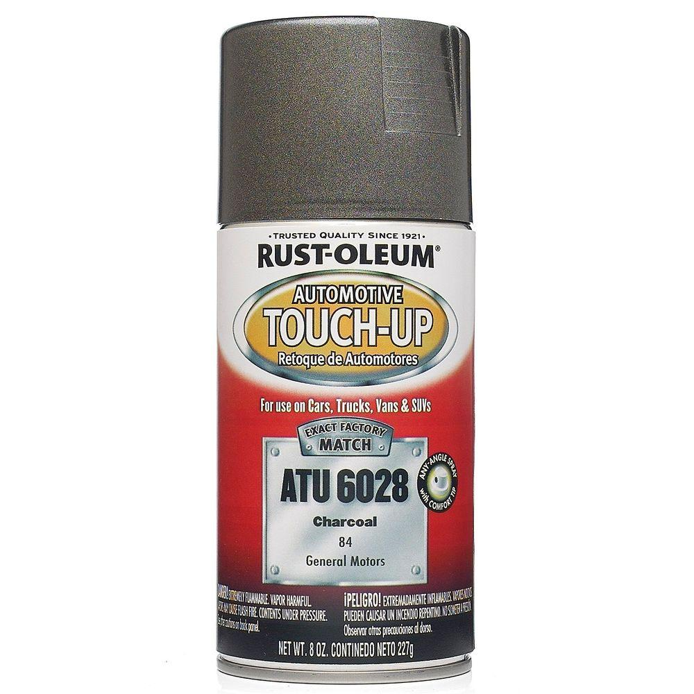 Rust-Oleum Automotive 8 oz. Charcoal Auto Touch-Up Spray (6-Pack)