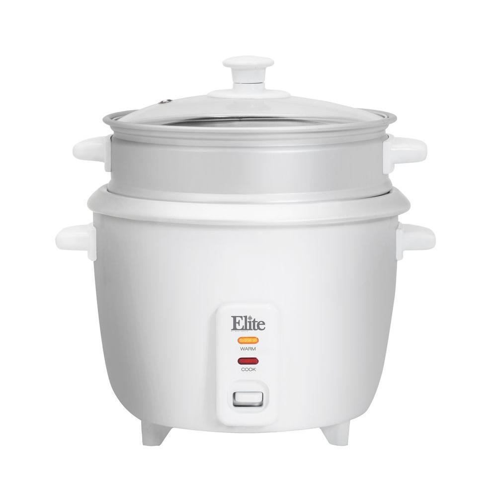 Gourmet 16-Cup Rice Cooker, White