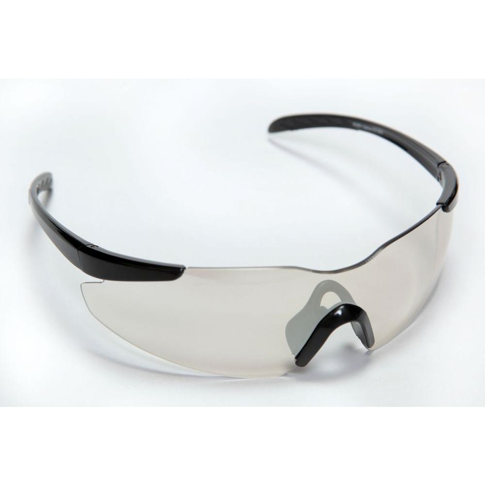 Cordova Optoicor Safety Glasses Frameless Design One Piece Indoor/Outdoor Lens