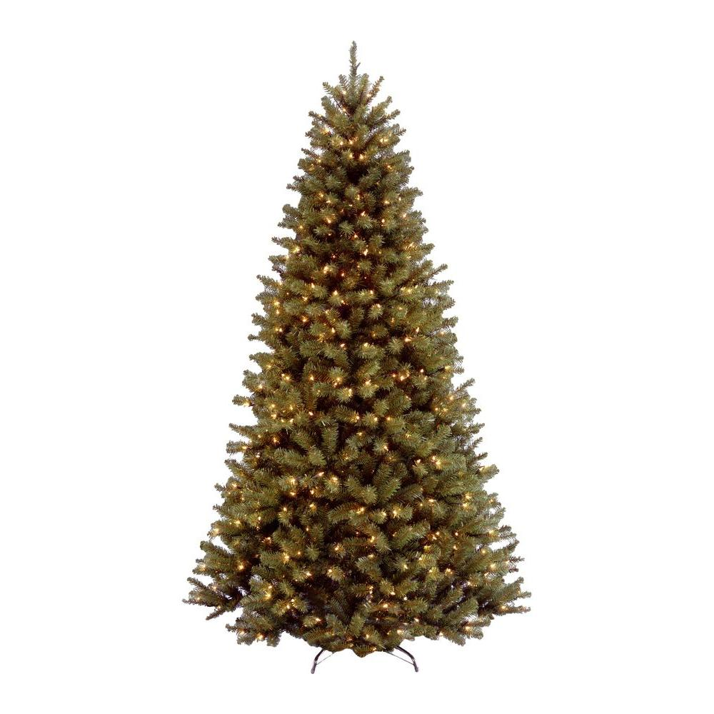 null 7.5 ft. North Valley Spruce Artificial Christmas Tree with 550 Clear Lights