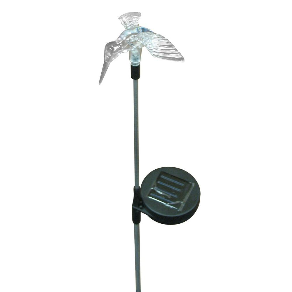 Hold All Outdoor Black LED Bird Solar Path Light-DISCONTINUED