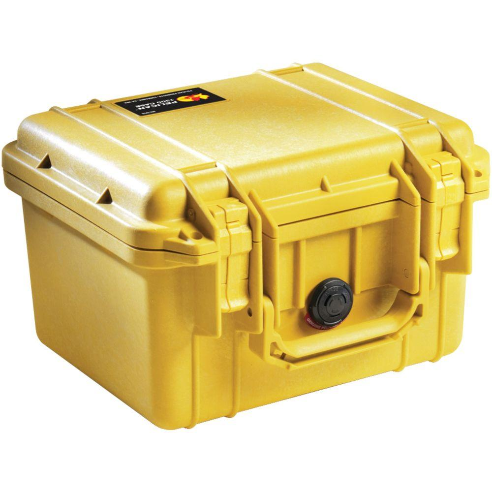 Pelican Case with Pick N Pluck Foam Yellow-1300-000-240 - The Home