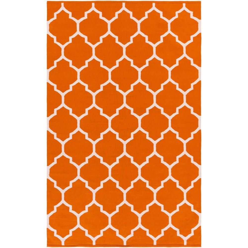 Vogue Claire Coral 8 ft. x 10 ft. Indoor Area Rug