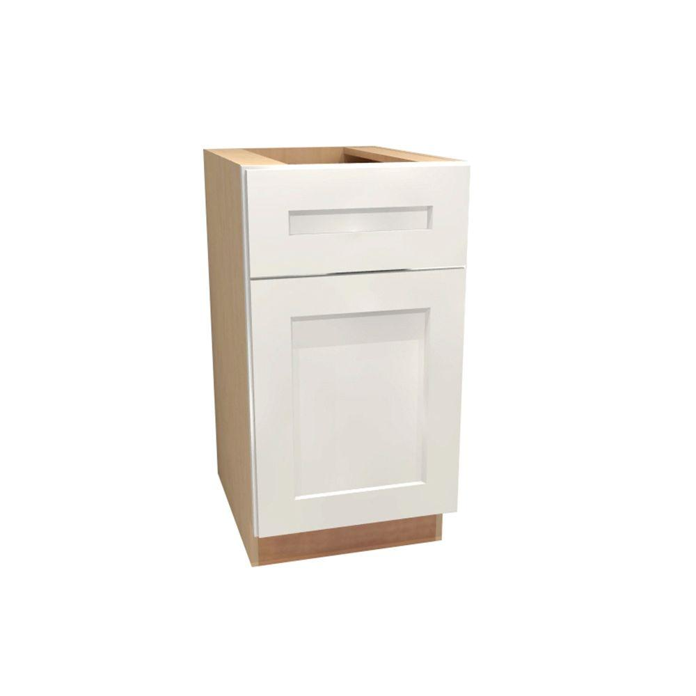 21x34.5x24 in. Newport Assembled Base Cabinet with 1 Rollout Tray in