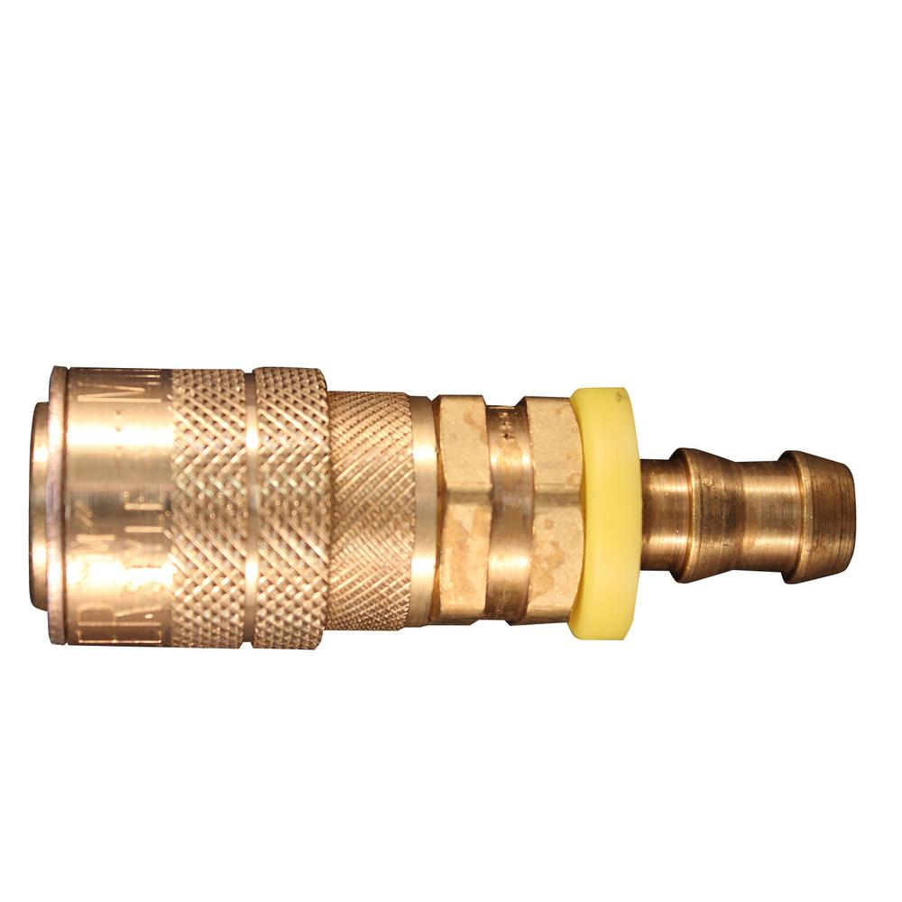 3/8 in. Hose Barb M Style Push On and Lock Coupler