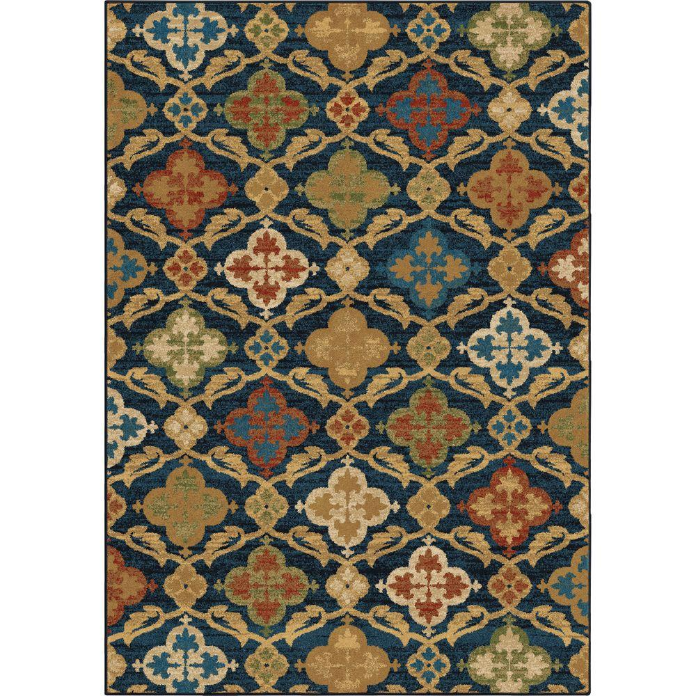 Orian Rugs Montorio Blue 7 ft. 10 in. x 10 ft.