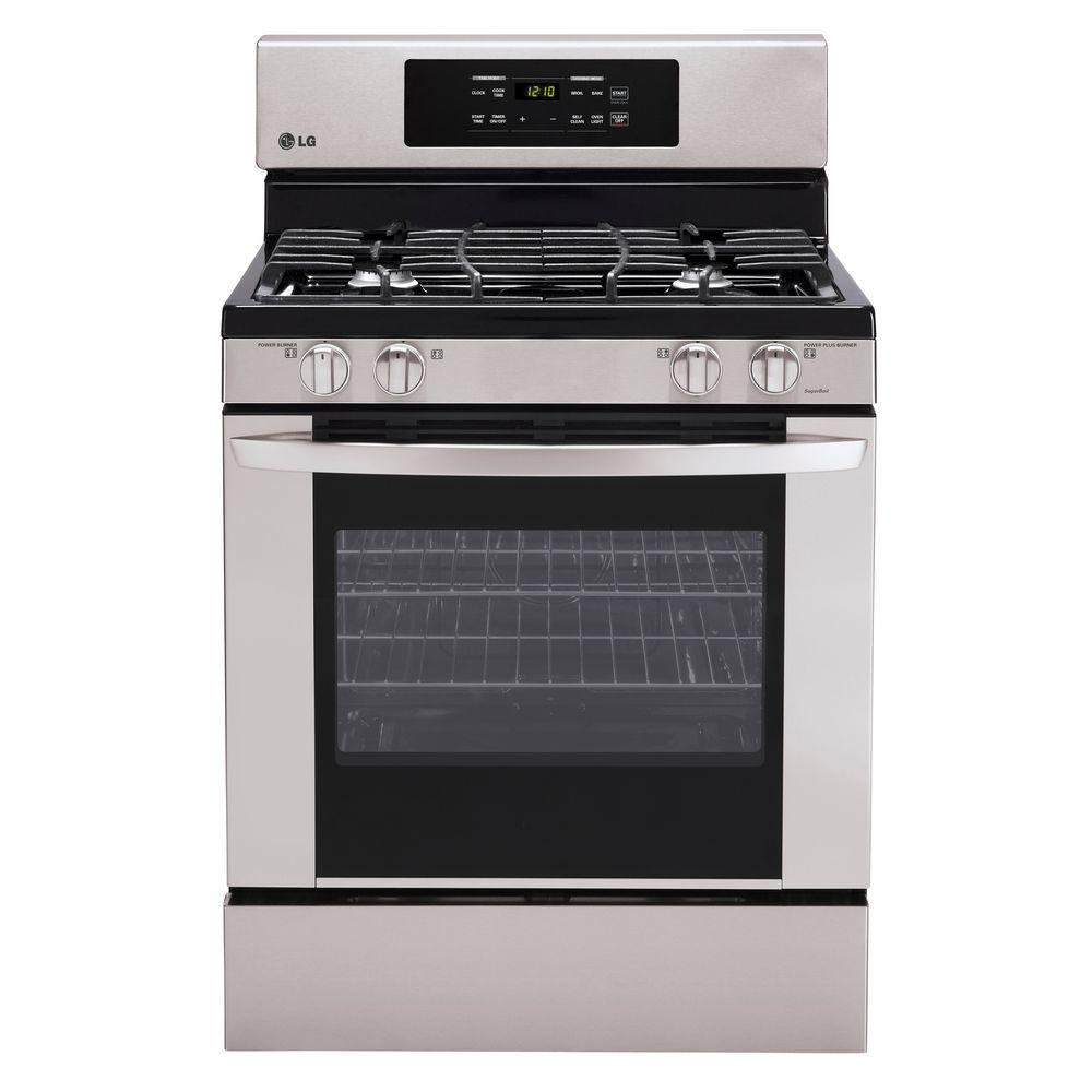 LG Electronics 30 in. 5.4 cu. ft. Gas Range with Self-Cleaning