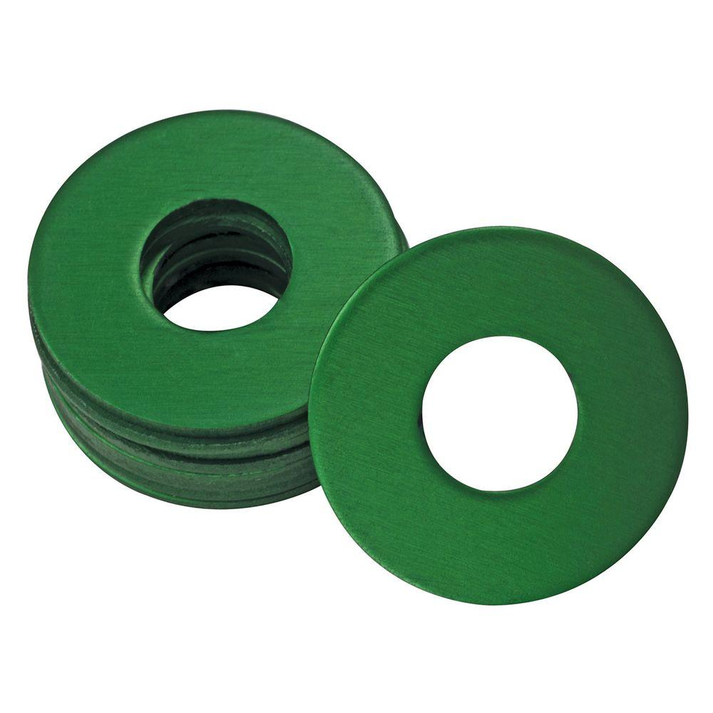 UltraView 1/4 in. x 28 in. Grease Fitting Washers in Green