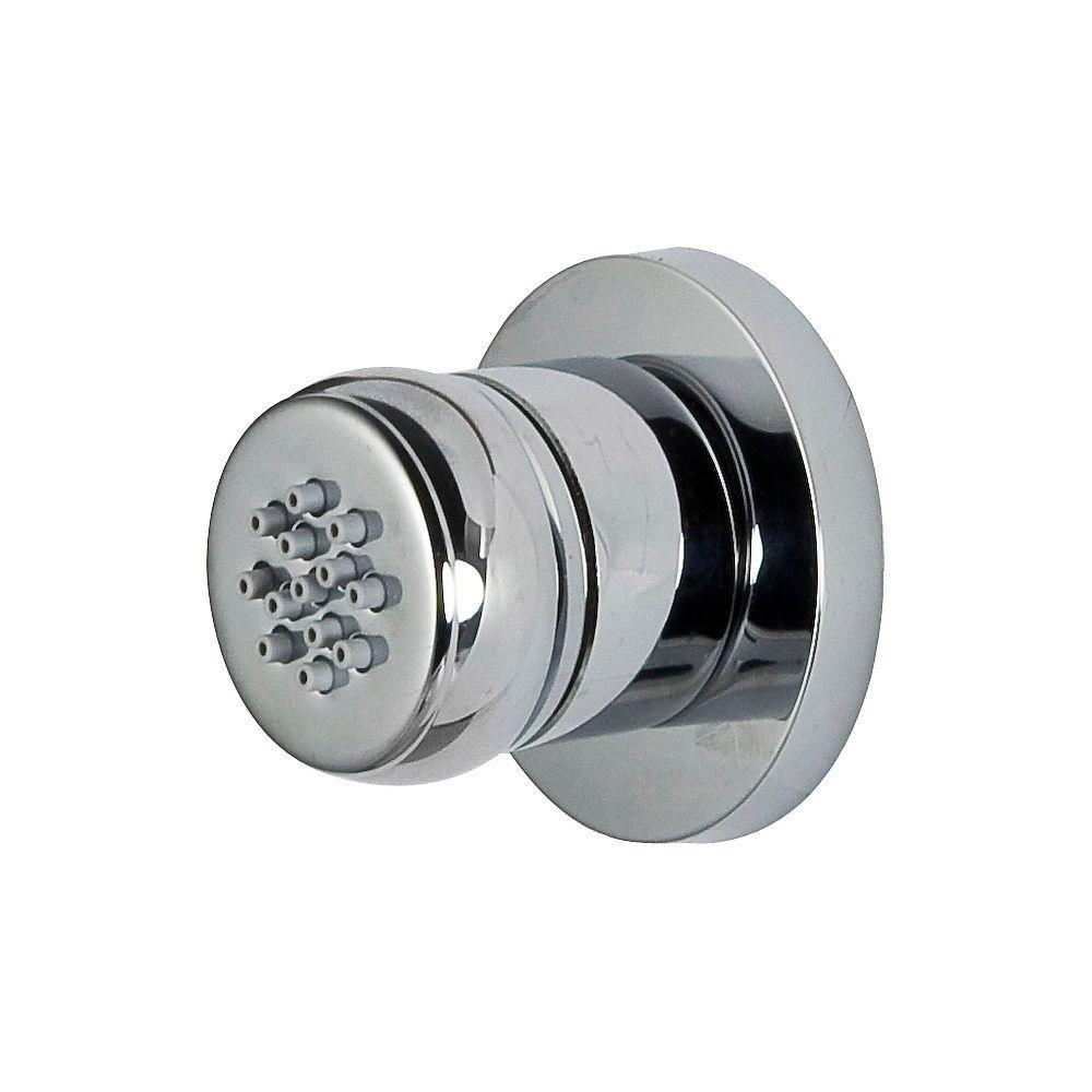 Pfister Shower 3/4 in. Thermostatic Body Sidespray Trim in Polished Chrome