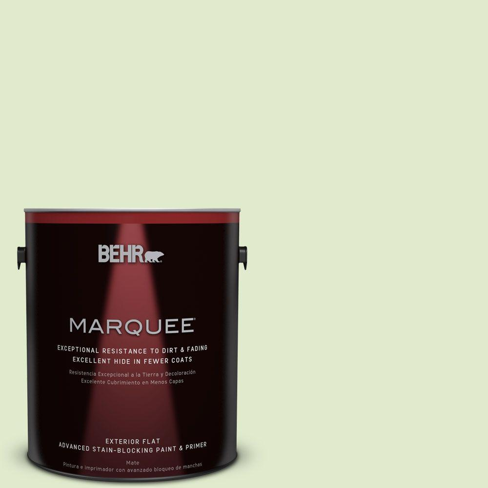 1-gal. #P370-2 Praying Mantis Flat Exterior Paint