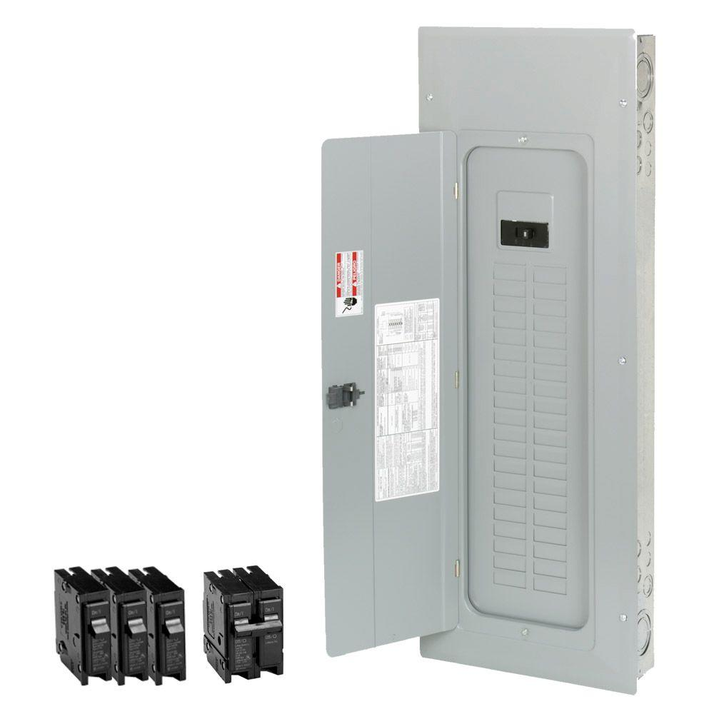 Eaton 200 Amp 40-Space 50-Circuit Type-BR Main Breaker Load Center Value