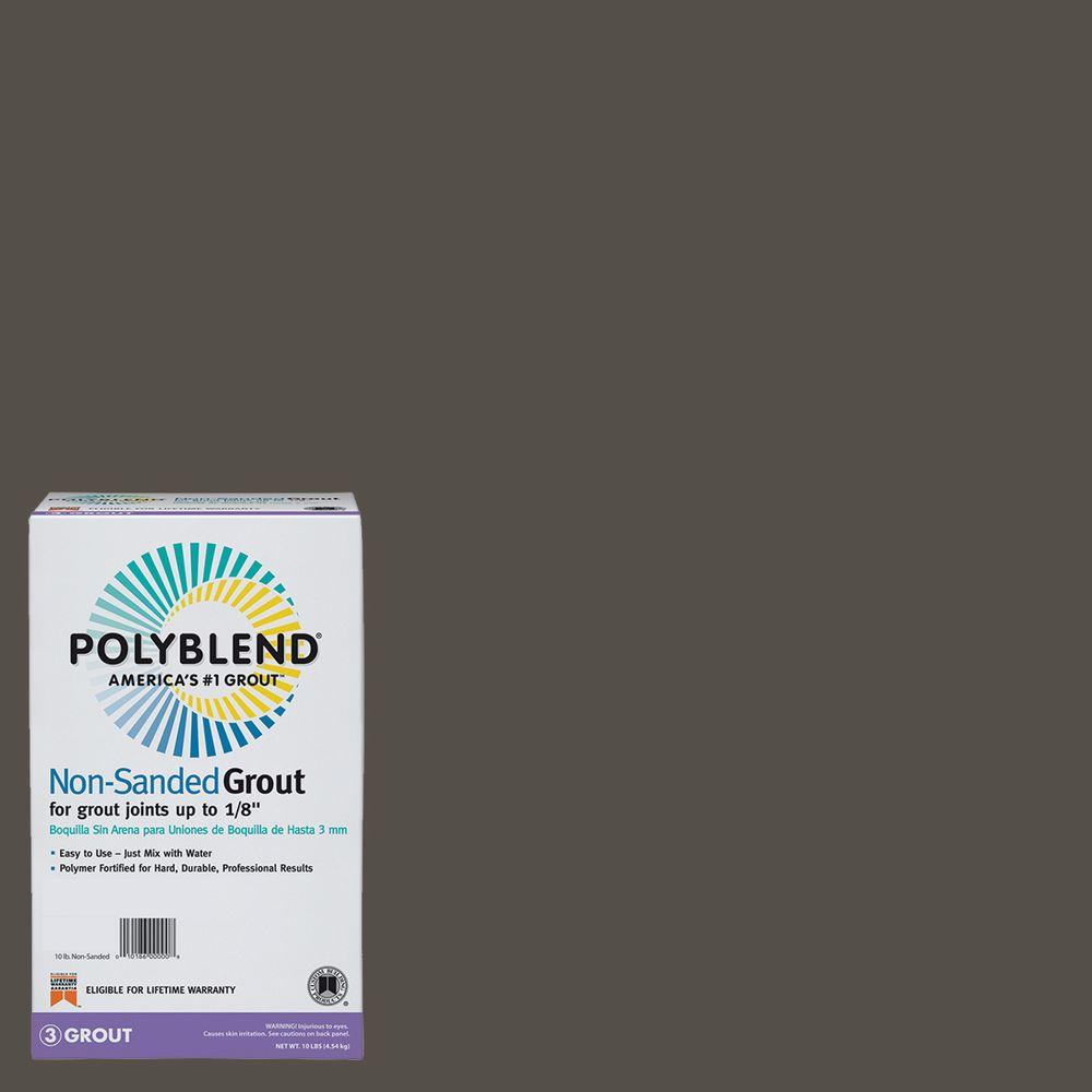 Custom Building Products Polyblend #540 Truffle 10 lb. Non-Sanded Grout-PBG54010