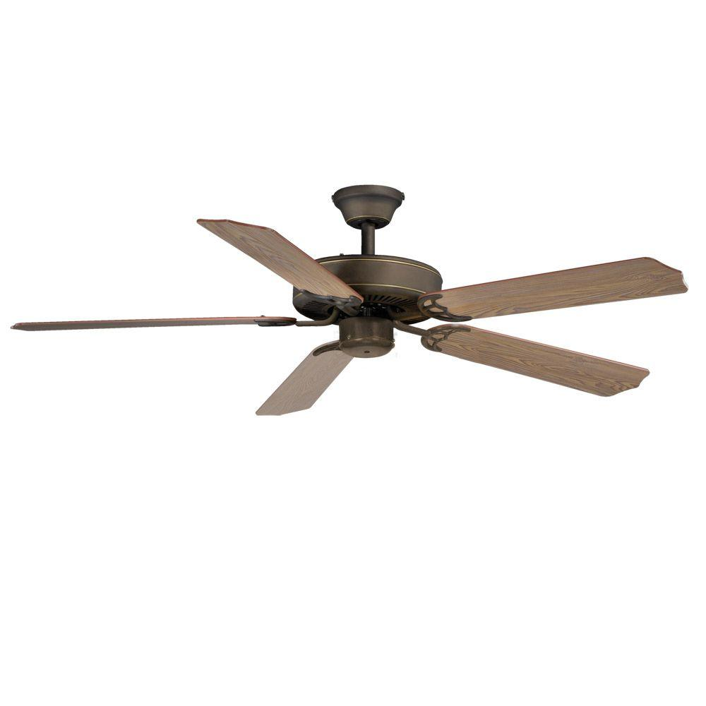 AireRyder Medallion 52 in. Oil-Rubbed Bronze Ceiling Fan