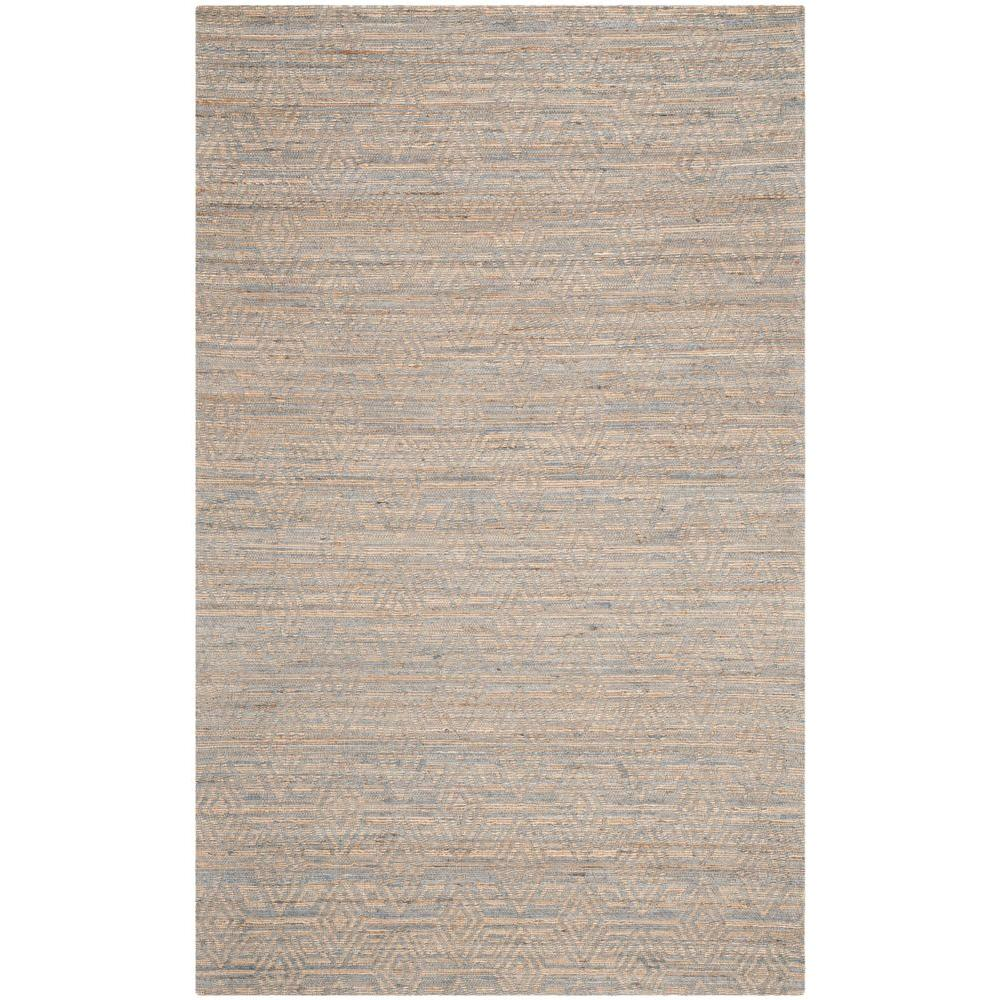 Cape Cod Grey/Sand 4 ft. x 6 ft. Area Rug