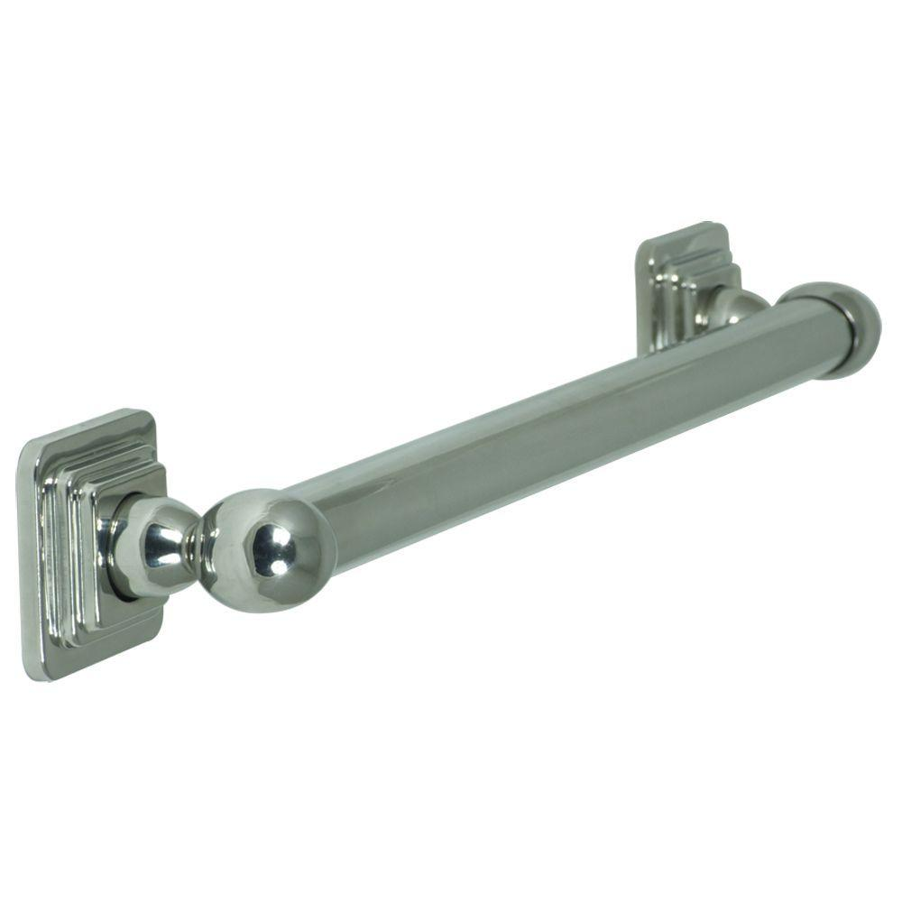 Pegasus Quad 24 in. x 3 in. Concealed Screw Grab Bar in Chrome-DISCONTINUED