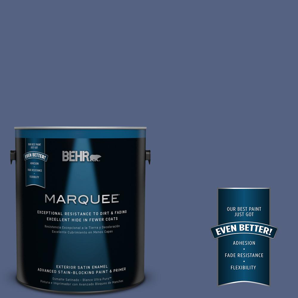 BEHR MARQUEE 1-gal. #610D-6 Enduring Satin Enamel Exterior Paint