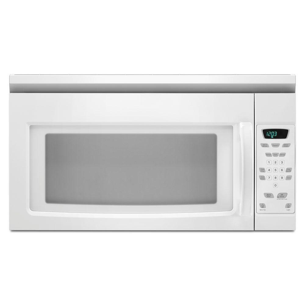 Amana 1.5 cu. ft. Over the Range Microwave in White