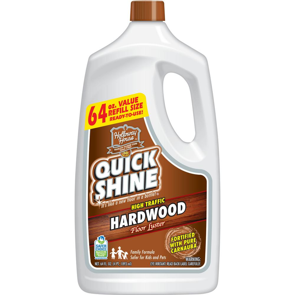 QUICK SHINE 64 oz. Hardwood Floor Luster-51560 - The Home Depot