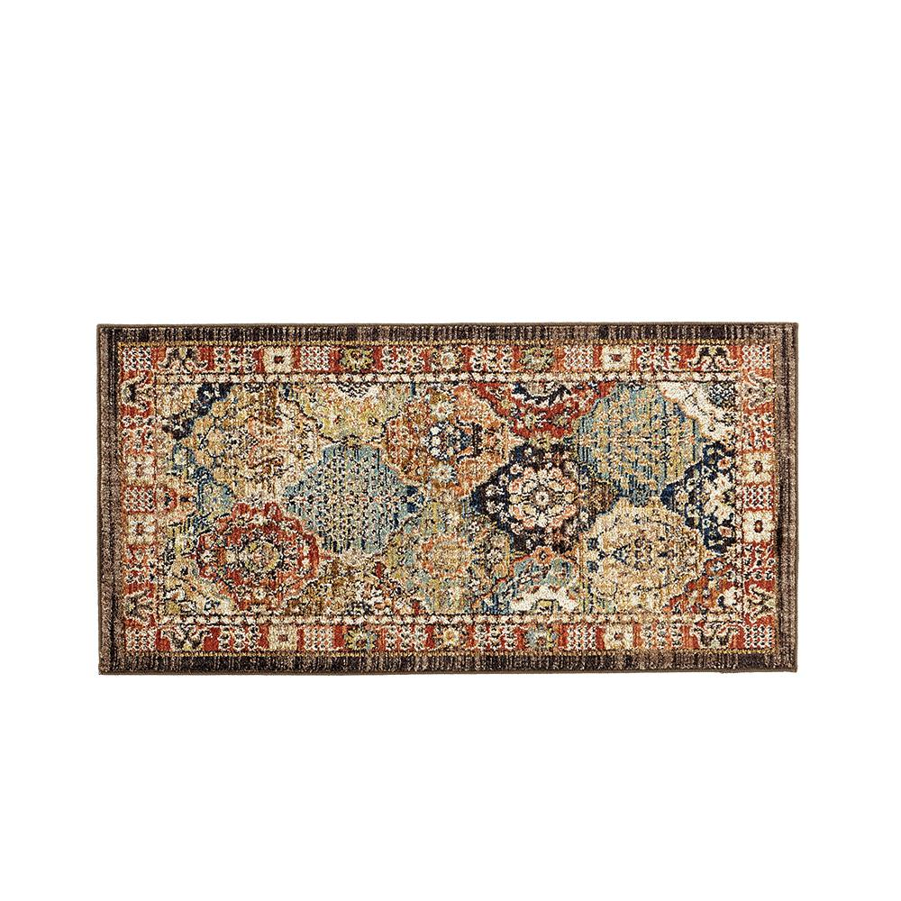 Home decorators collection patchwork medallion multi 2 ft for Home accents rug collection