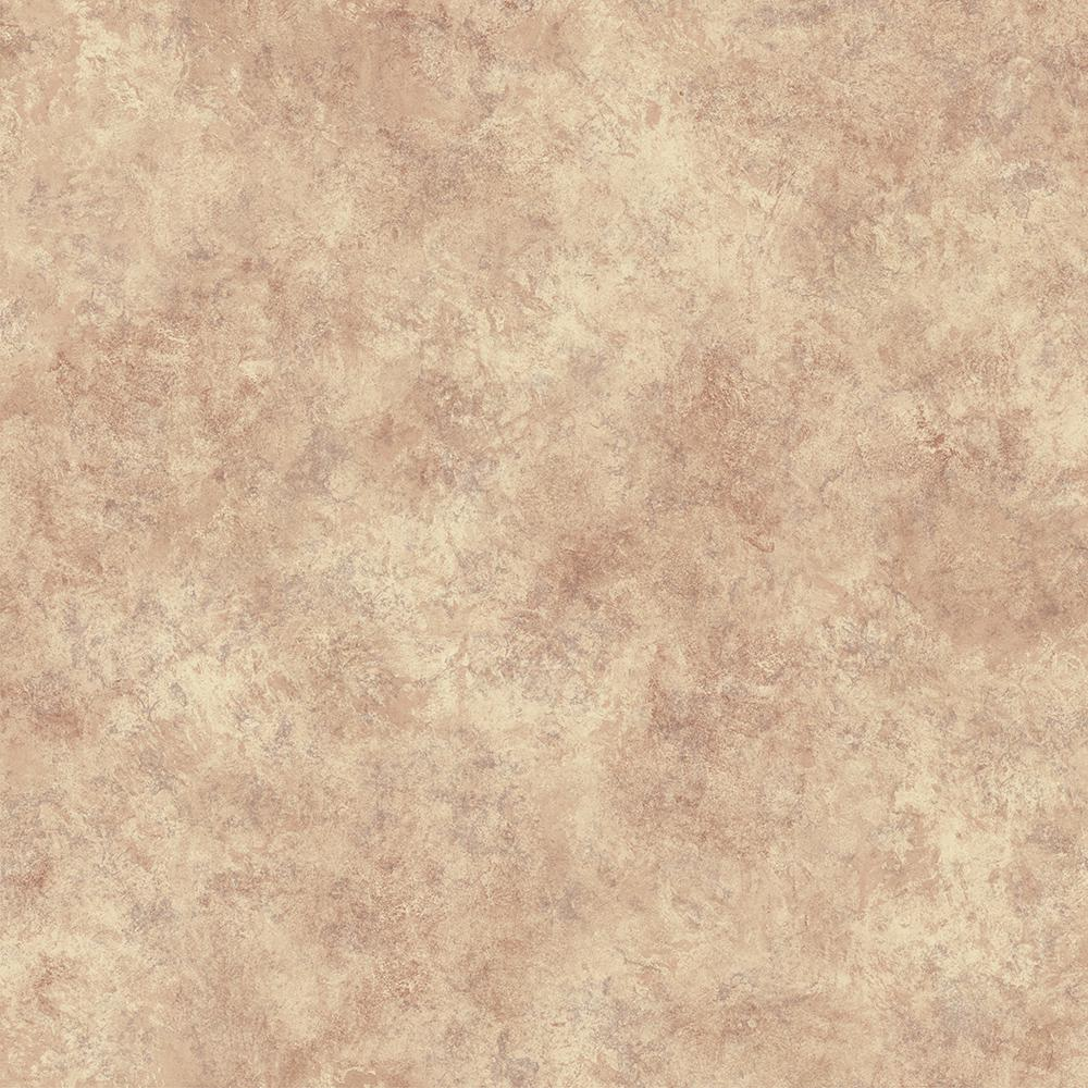 Shay Red Scroll Texture Wallpaper Sample