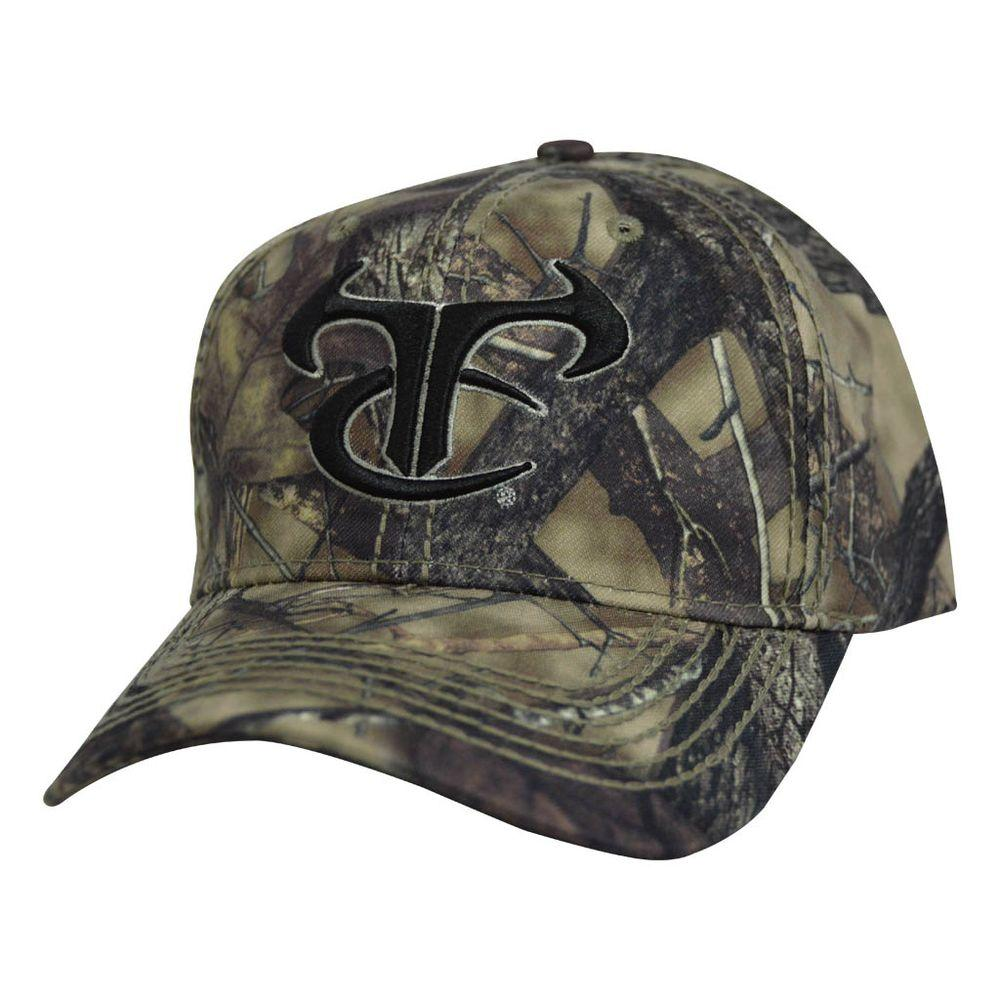 Men's Adjustable HTC Fall Camo Hat with Black TrueTimber Logo