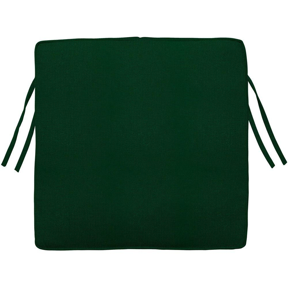 Home Decorators Collection Sunbrella Forest Green Square Outdoor Seat Cushion
