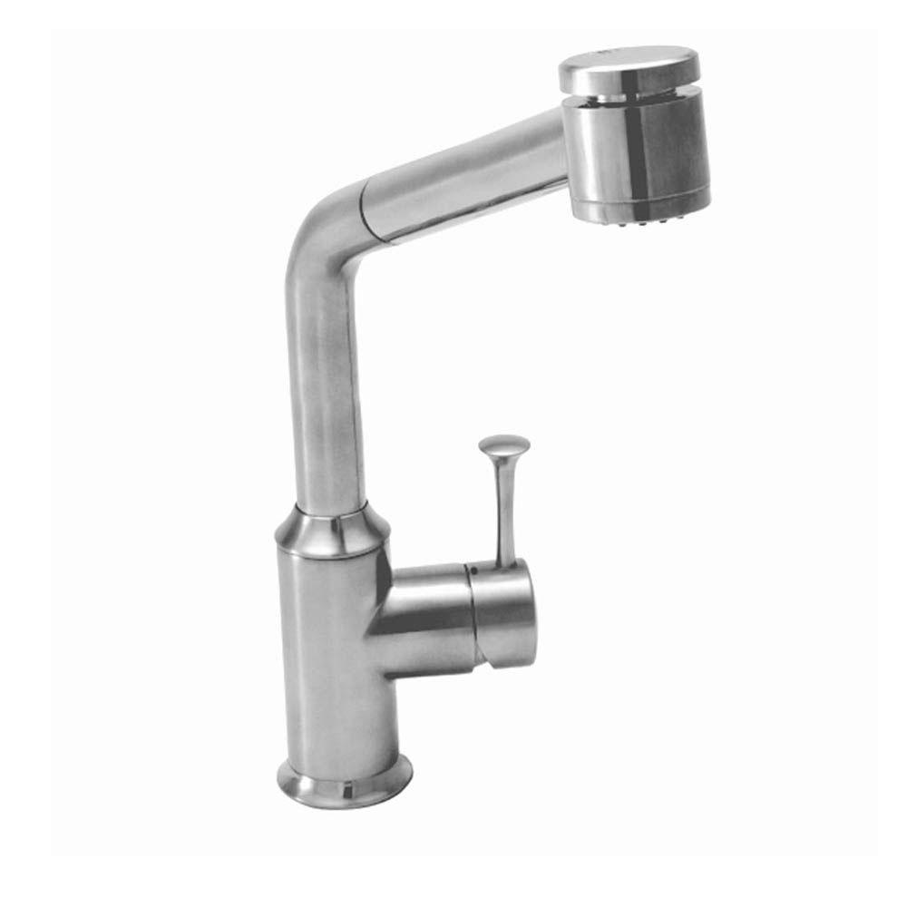 American Standard Pekoe Single-Handle Pull-Out Sprayer Kitchen Faucet in Polished Chrome
