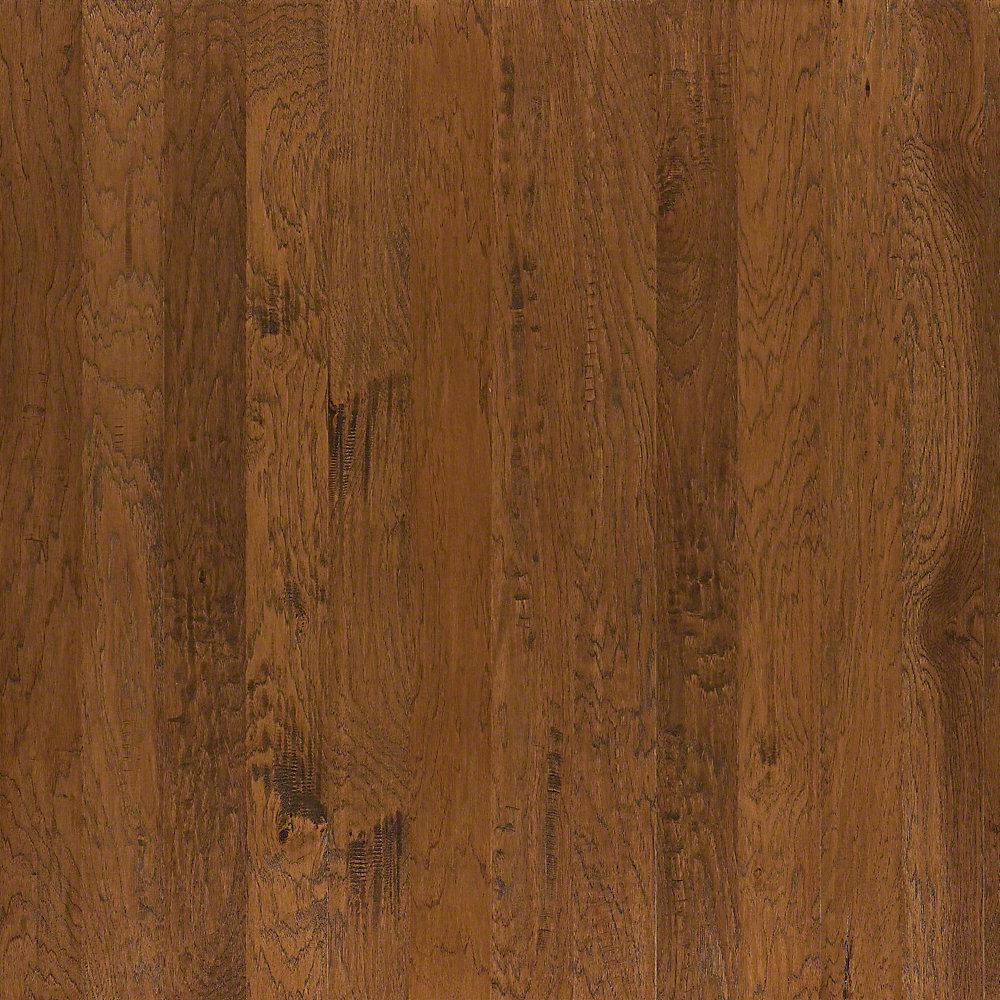 Take Home Sample - Western Hickory Weathered Engineered Hardwood Flooring - 3-1/4 in. x 10 in.