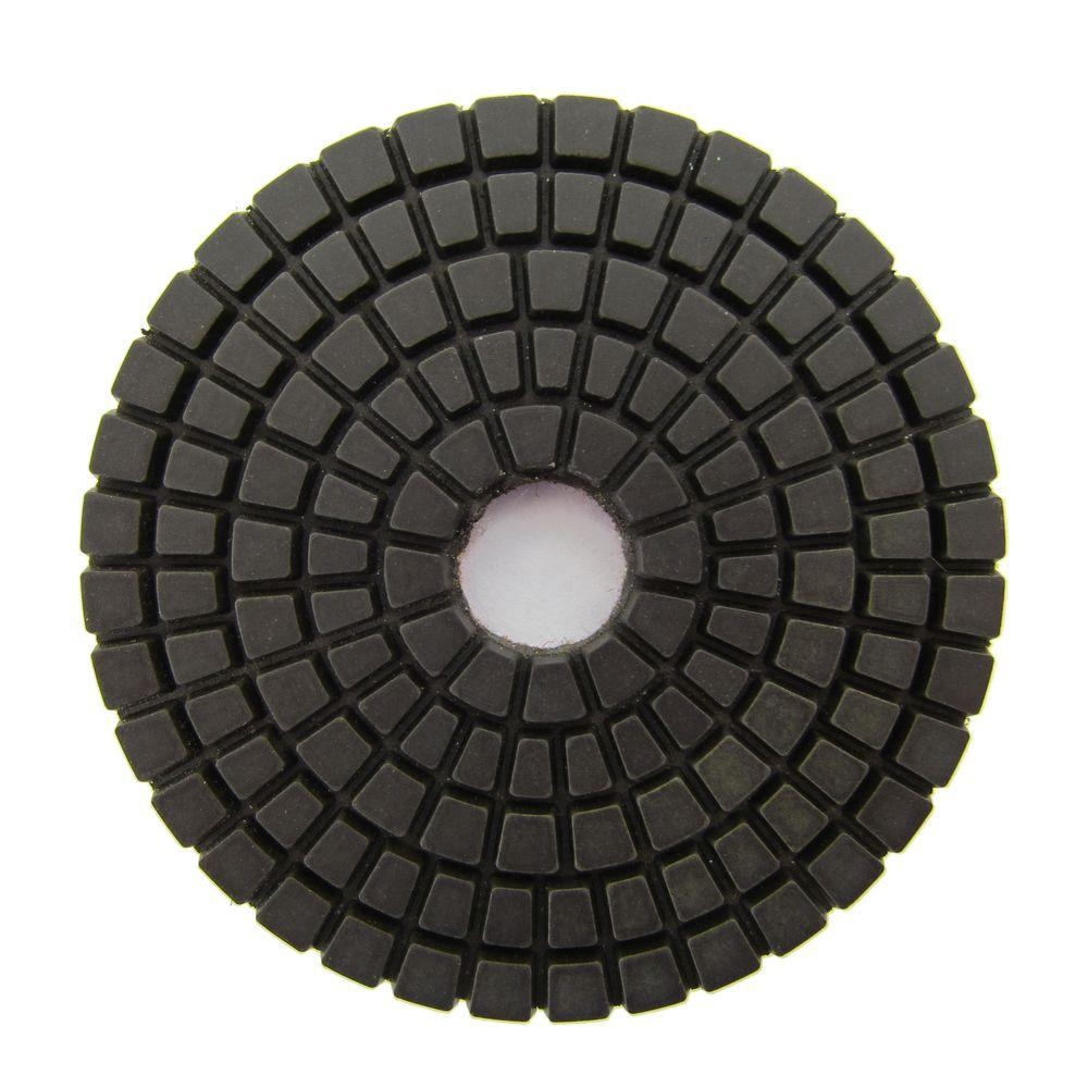 3 in. #50 Grit Wet Diamond Polishing Pad for Stone