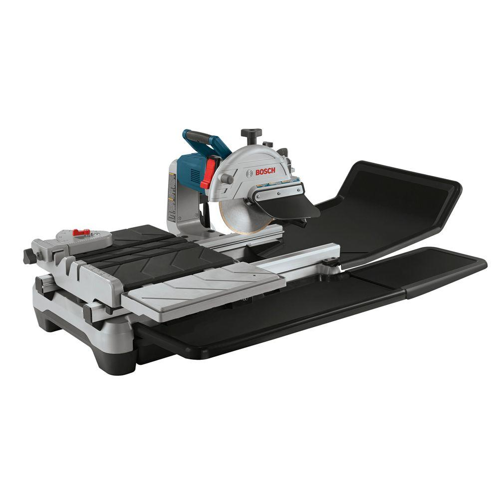 Bosch 15 Amp Corded 10 in. 1.4 Horse Power Wet Tile and Stone Power Saw