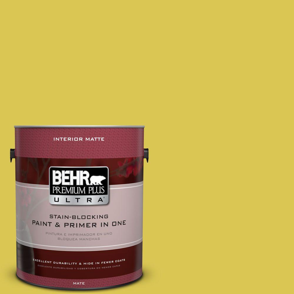 1 gal. #HDC-SM16-10 Pepperoncini Flat Interior Paint