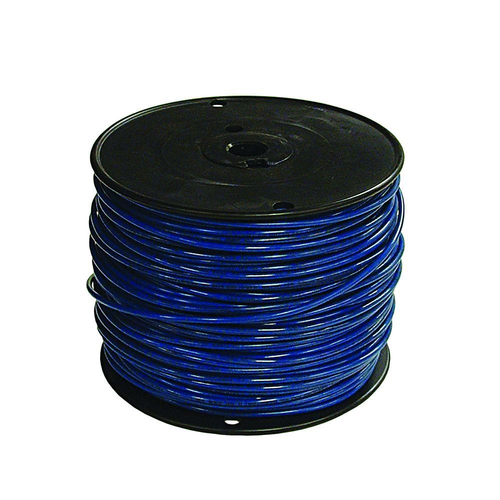 Southwire 500 ft. 12 Blue Stranded XHHW Wire