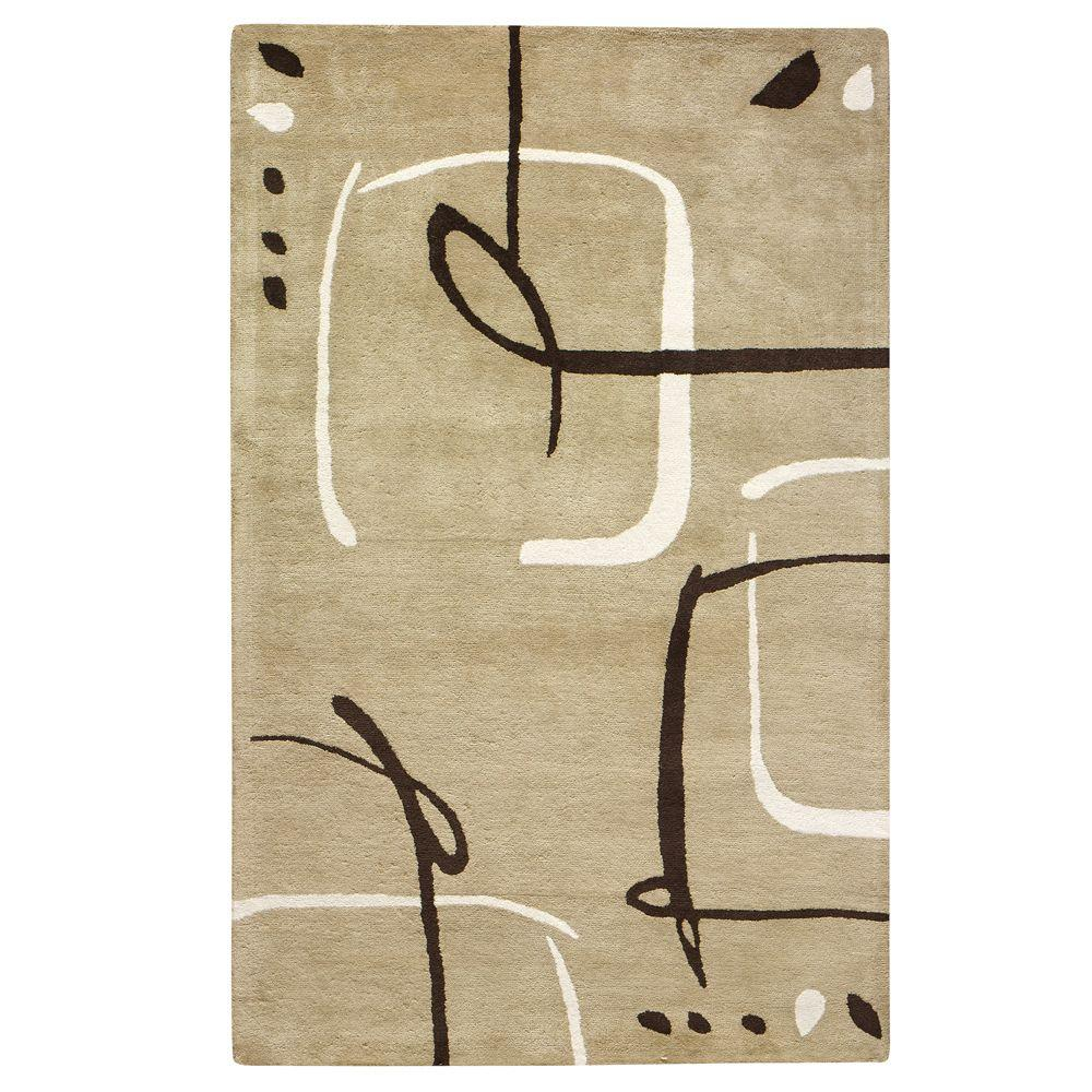 Home Decorators Collection Fragment Dark Sand 9 ft. 6 in. x