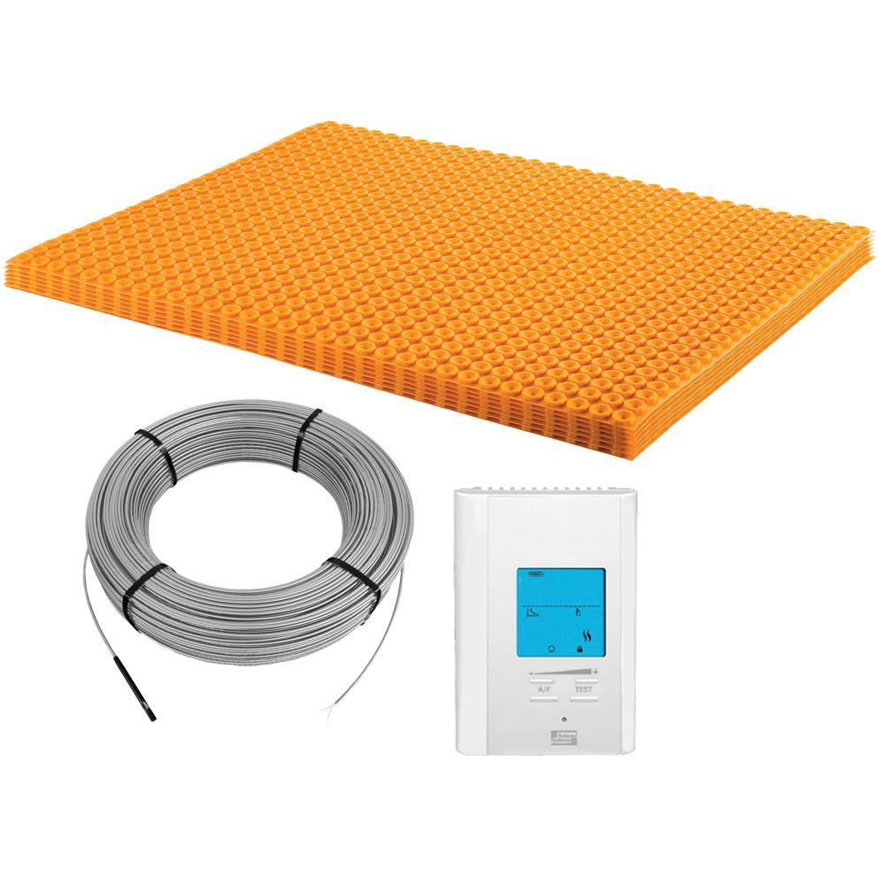Schluter Ditra-Heat 120-Volt 60.3 sq. ft. Electric Flooring Warming Kit