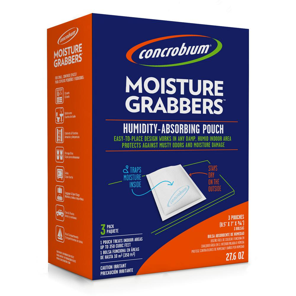 27.6 oz. Moisture Grabbers Humidity Absorbing Pouch (3-Pack)